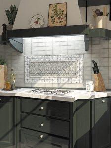 modern farmhouse backsplash kitchen tile