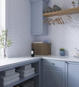 Natural Stone Tile Backsplash Kitchen