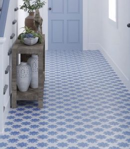 moroccan stone kitchen floor tiles blue