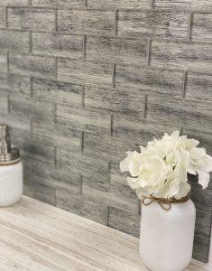 fabric look glass tiles