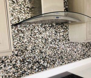 grout less mosaic tiles